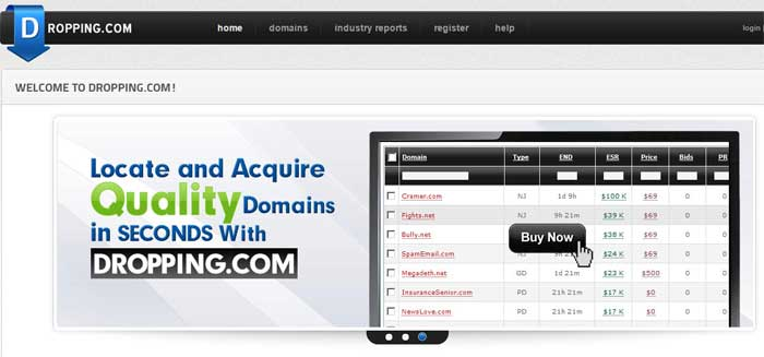 where to find expired domain names