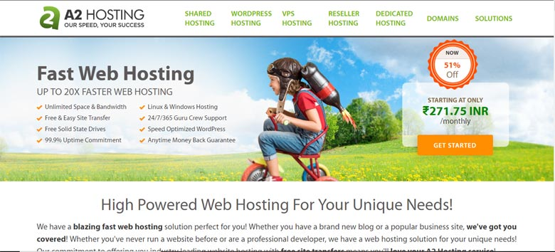 a2hosting similar companies to bluehost