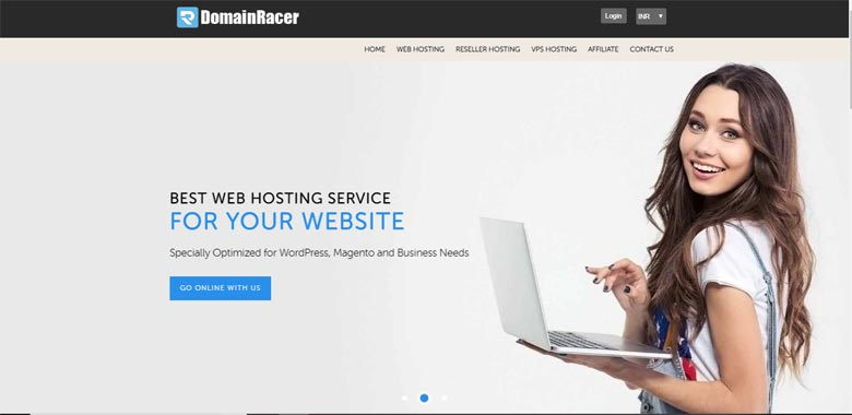domainracer similar companies to bluehost