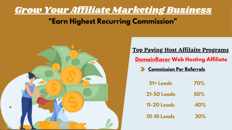 top web hosting affilate program residual income