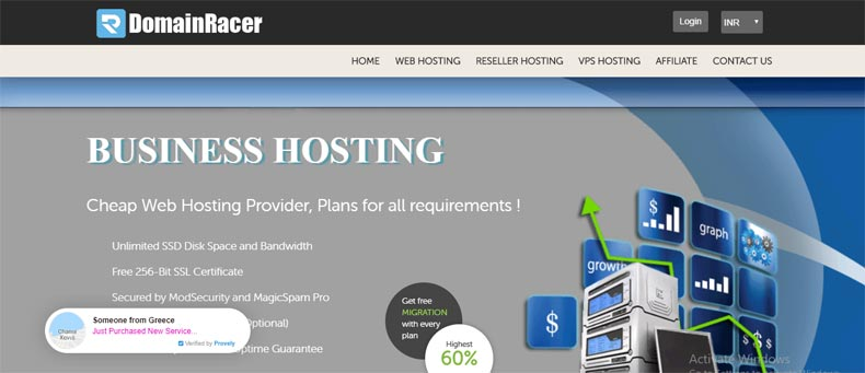 hostgator alternative companies domainracer