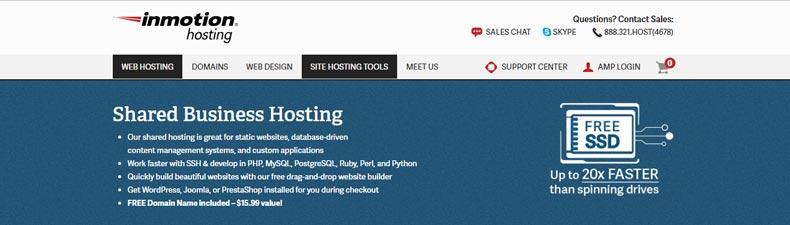hostgator alternative companies inmotion hosting