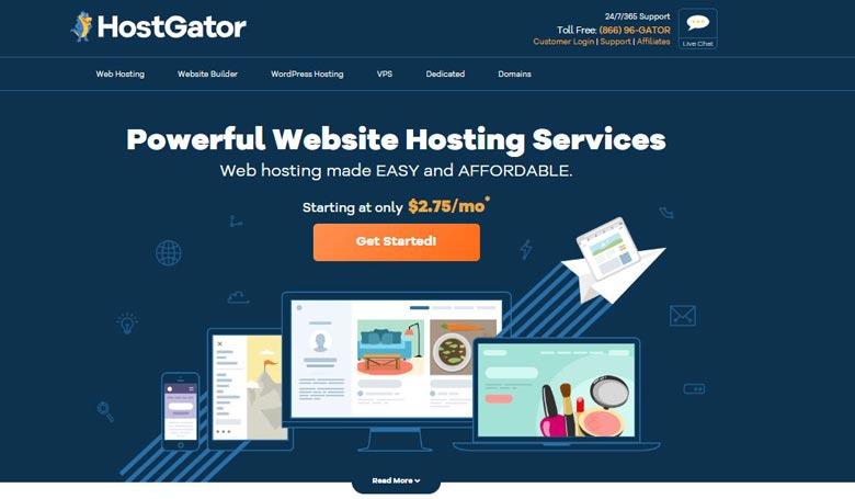 inmotion hosting alternatives hostgator