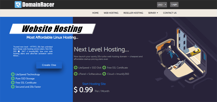resellerclub similar sites web hosting