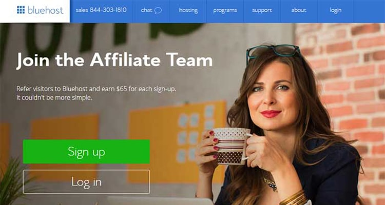 bluehost web hosting affiliate program residual income